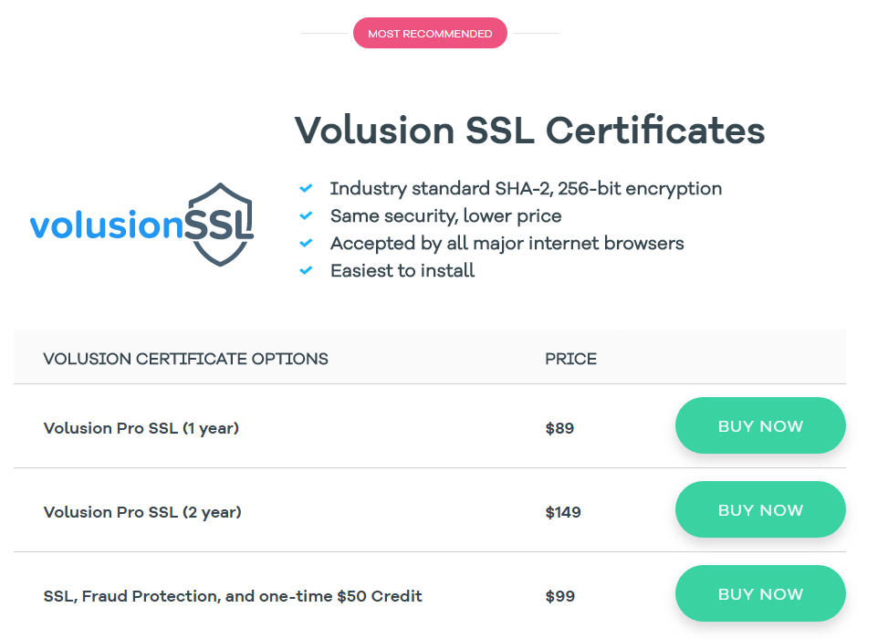 Volusion Review 2018