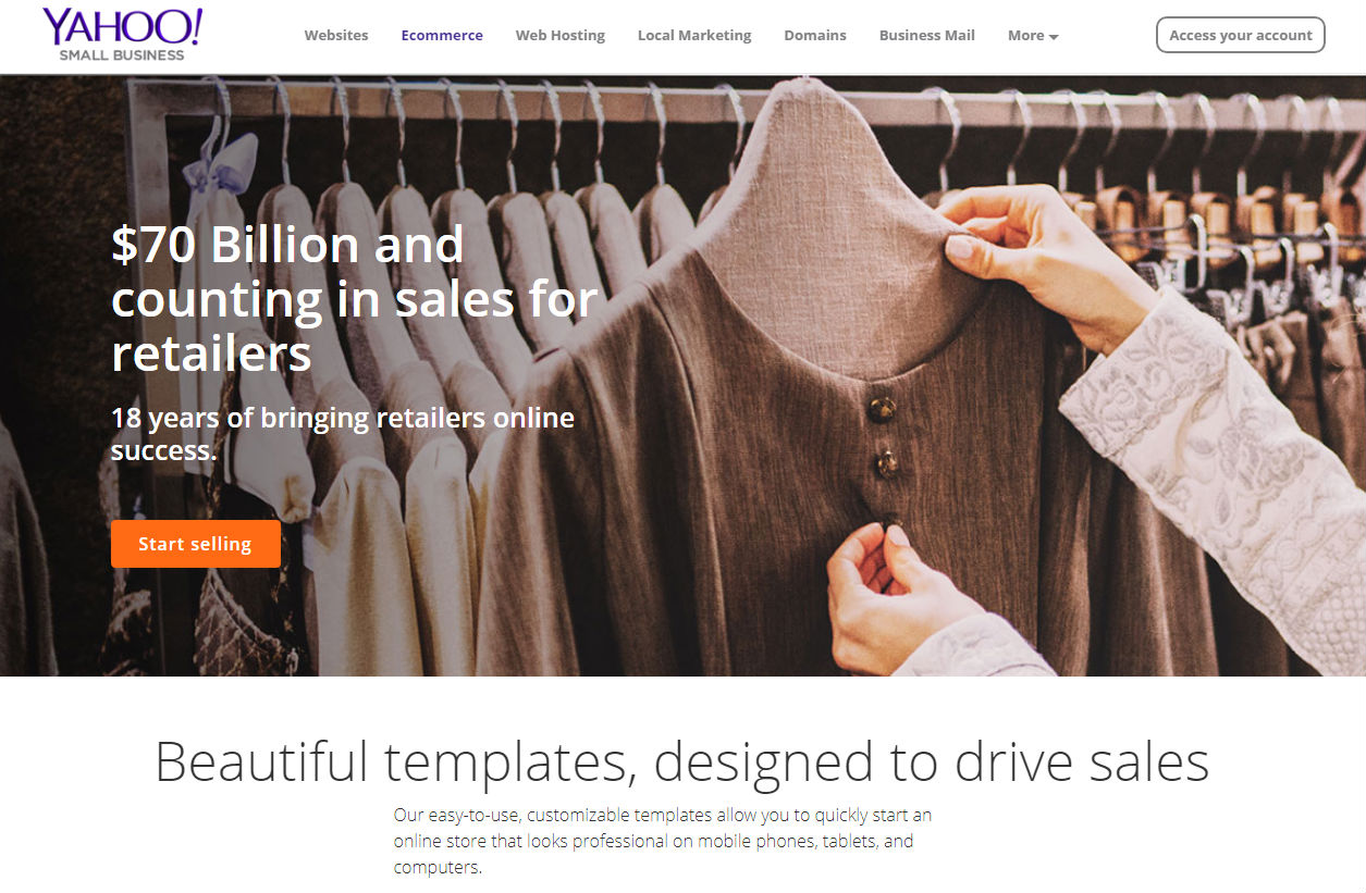 Yahoo small business review yahoo small business ecommerce pricing accmission Gallery